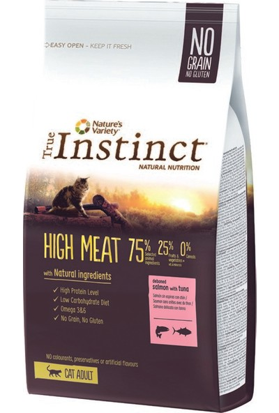 True Instinct Original Kılçıksız Somon ve Ton Balıklı Yetişkin Kedi Maması 7 kg