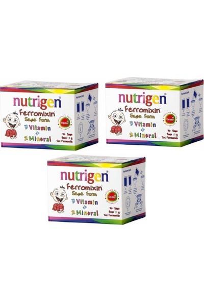 Nutrigen Ferromixin 30 Şase 3'lü Paket NUT922222