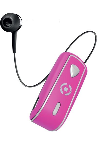 Celly Makaralı Bluetooth Kulaklık - Pembe