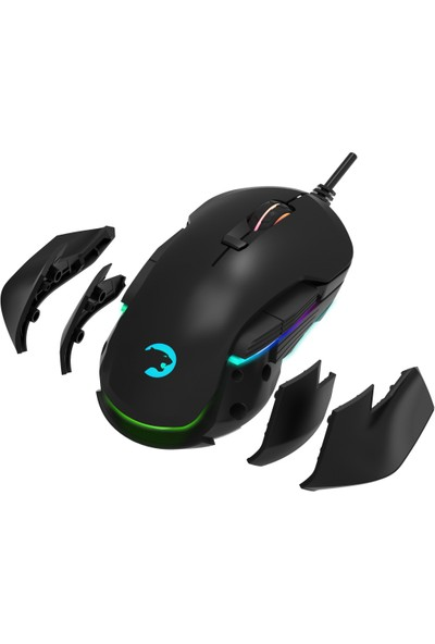 GamePower Devour RGB Moduler Oyuncu Mouse