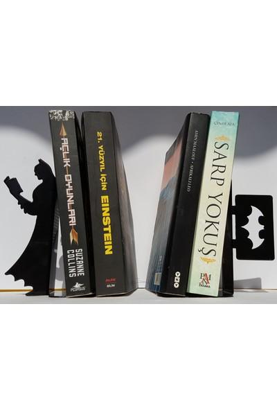 İdeal Tasarım Batman Kitap Dayanağı Raf Metal Lazer Kesim