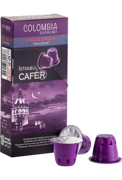 İstanbul Cafer Kapsül Kahve Kolombiya 10 Kapsül
