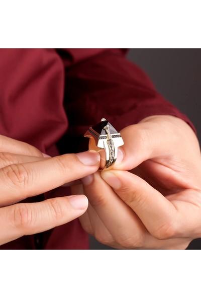 Altınbaş Yzok1233-24708 Altın Erkek Hançer Yüzüğü