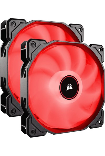 Corsair AF140 140 mm LED Dual Kırmızı Kasa Fanı CO-9050089-WW