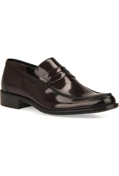 Ziya Erkek Deri Ayakkabı 9350 7733 Bordo