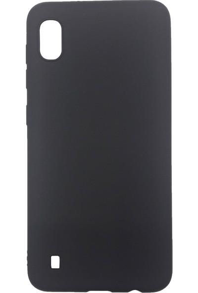 Ercan İletişim Samsung Galaxy A10 Silikon Cep Telefonu Kılıfı - Siyah