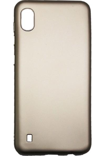 Ercan İletişim Samsung Galaxy A10 Silikon Cep Telefonu Kılıfı - Gold