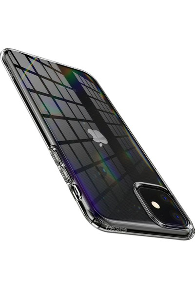 Spigen Apple iPhone 11 Kılıf Liquid Crystal Clear 4 Tarafı Tam Koruma - 076CS27179