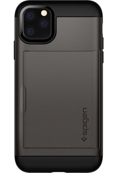 Spigen Apple iPhone 11 Pro Kılıf Slim Armor CS Gunmetal - 077CS27236