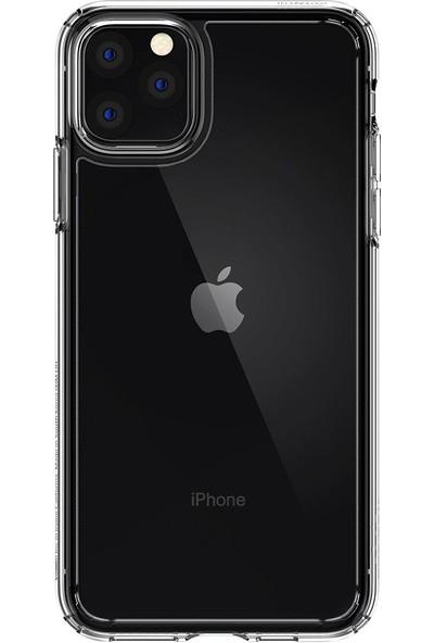 Spigen Apple iPhone 11 Pro Kılıf Crystal Hybrid Crystal Clear - 077CS27114