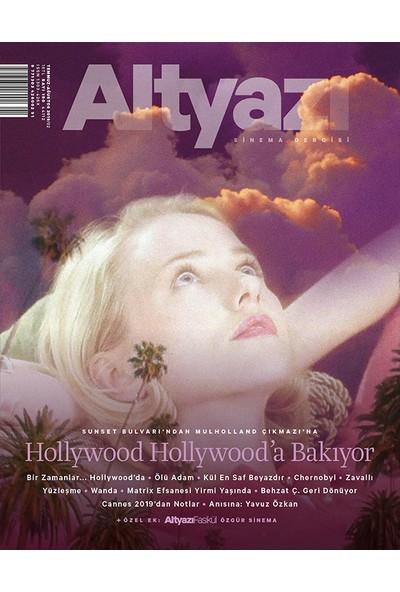 Altyazı Dergisi Temmuz Ağustos 2019