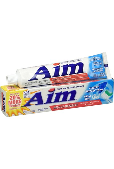Aim Multi Benefit Cavity Protection Ultra Mint Gel Diş Macunu 156 gr