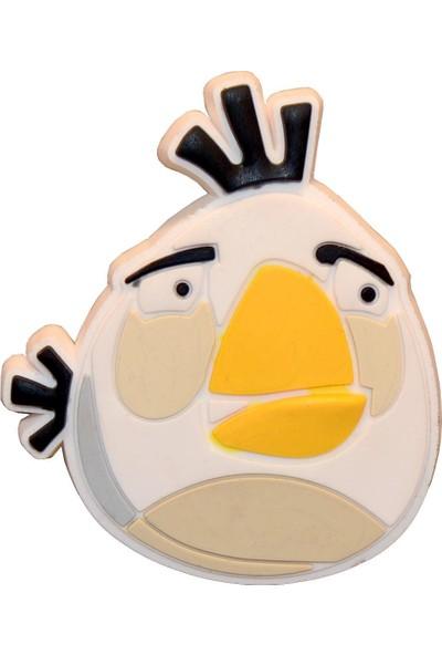 Rform 20112 Kızgın Kuş Çocuk Kulpu Beyaz