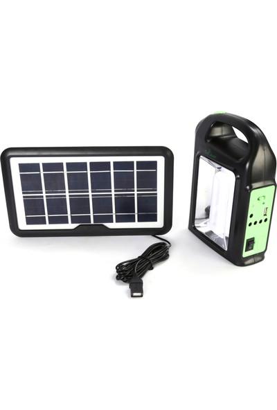 Baretta CL 02 Solar Güneş Enerjili Powerbank Mobil El Feneri
