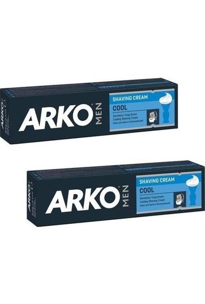 Arko Tıraş Kremi Cool 100 gr x 2'li Set