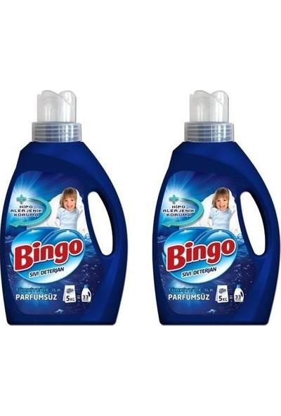 Bingo Sıvı Deterjan Parfümsüz 2.145 ml x 2'li Set