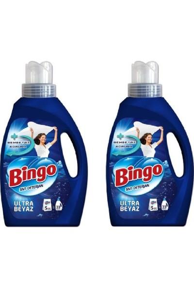 Bingo Sıvı Deterjan Ultra Beyaz 2.145 ml x 2'li Set