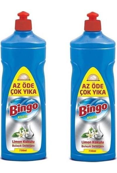 Bingo Bulaşık Deterjanı Limon 675 ml x 2'li Set