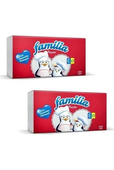 Familia Peçete 200' lü x 2'li Set