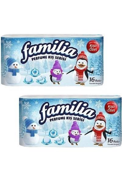 Familia Tuvalet Kağıdı Kış Serisi Parfumlü 16'lı x 2'li Set