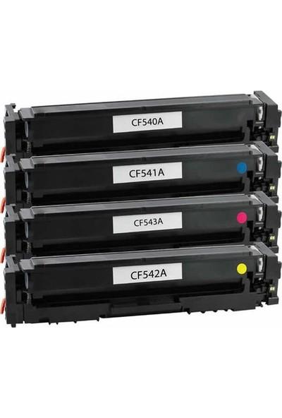 CRG Hp CF540A Chipli Siyah Muadil Toner