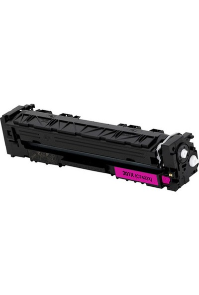 CRG HP CF403X Toner - HP 203X 2300 Sayfa Kırmızı Muadil Toner