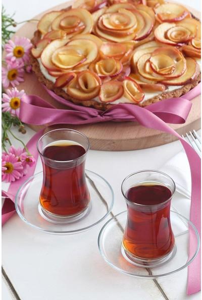 Lav Duru 6'lı Çay Bardağı - Duru 306
