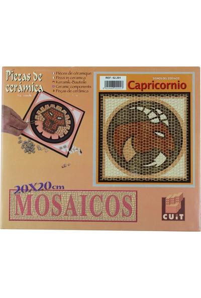 Domenech Oğlak Burcu Simgesi Mozaik Taş Puzzle