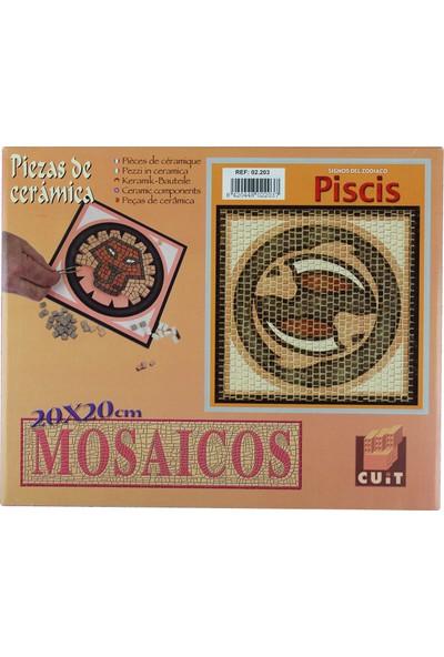 Domenech Balık Burcu Simgesi Mozaik Taş Puzzle