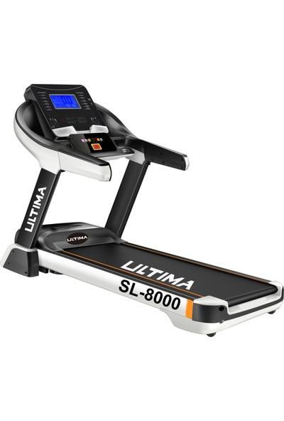SL-8000 Masajlı Otomatik Eğimli -Ac Motor Koşu Bandı