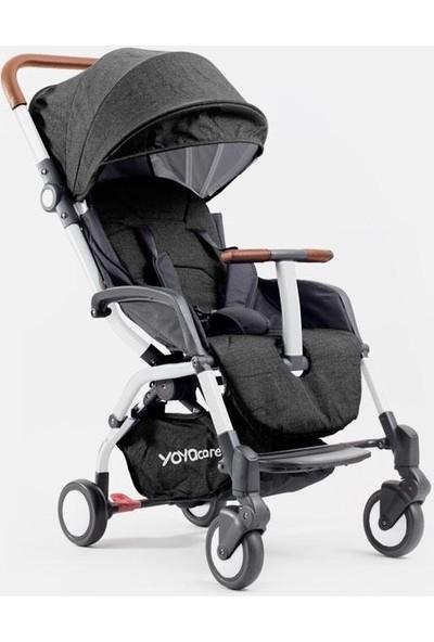 Yoya Care Bebek Arabası Beyaz Kasa - Siyah