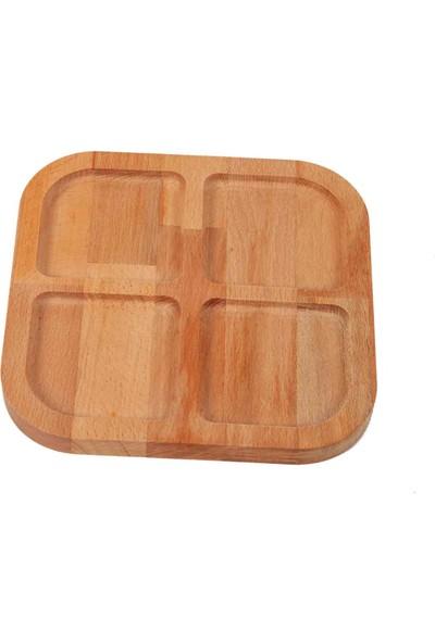 Wood&good Kare Bölmeli Çerezlik