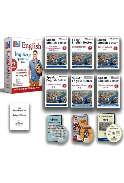 Limasollu Naci 3 Kur Bir Arada Komple İngilizce Eğitim Setleri + 12 Aylık Online İngilizce Kursu
