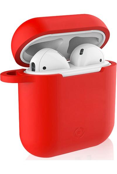 Celly AirPods Kılıfı - Kırmızı