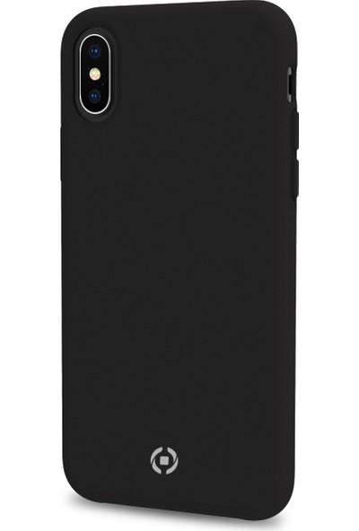 Celly Feeling iPhone X/XS Kılıf - Siyah