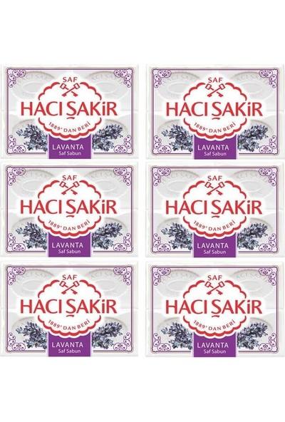 Hacı Şakir Sabun Lavanta 600 gr x 6'Lı Set