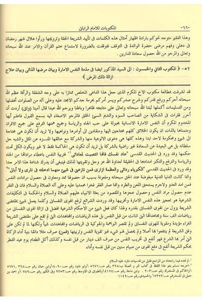 Mektubatı Rabbani | Arapça 2 Cilt Takım