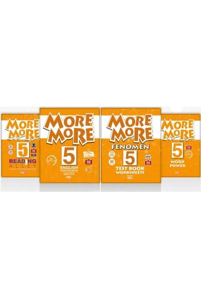 Kurmay Yayınları 5. Sınıf More And More 4'lü Fırsat Seti 2019 - 2020