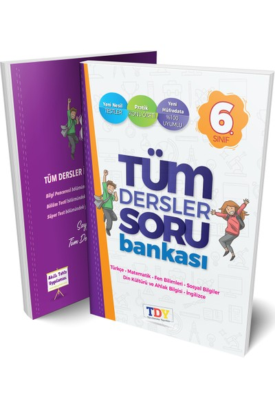 Tüm Dersler Yayınları 6. Sınıf Tüm Dersler Soru Bankası