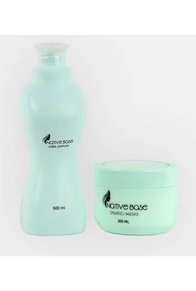 Natıve Base Onarıcı Şampuan & Onarıcı Maske