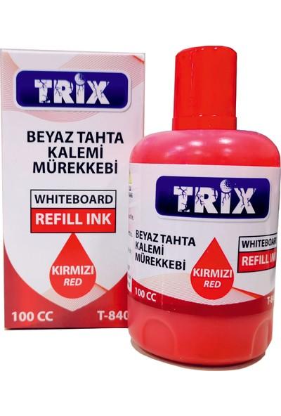 Trix Beyaz Tahta Kalemi Mürekkebi 100 ml Kırmızı
