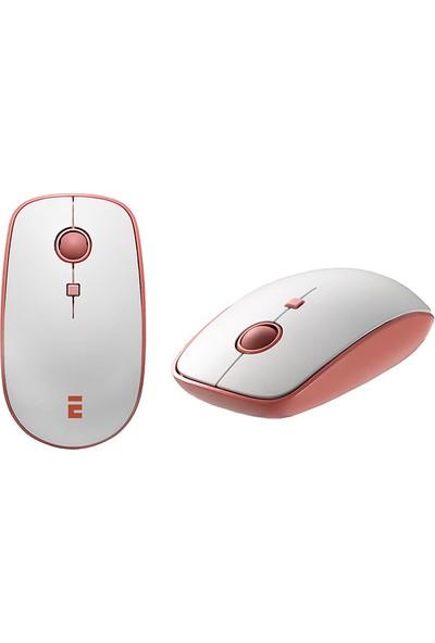 Everest Elite KM-6388 Beyaz Kablosuz LC Layout Multimedia Klavye + Mouse Set