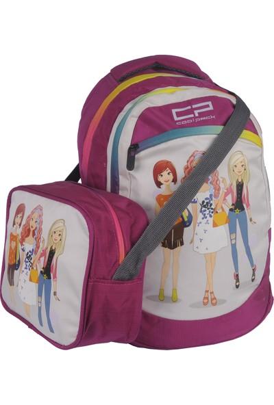 Pehlivan Barbie İlkokul Çantası Fuşya 723