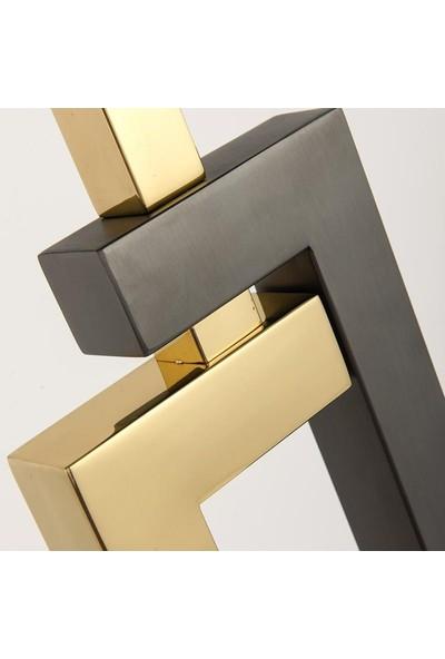 Tsd Dekorasyon Metal Ayaklı Lambader Plus