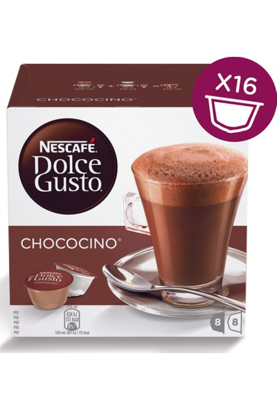 Nescafe Dolce Gusto Chococino 16 Kapsül