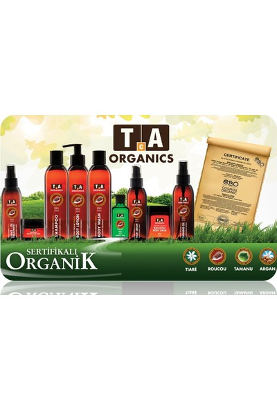 Tca Organics Argan Hair Balm Saç Kremi 50 ml