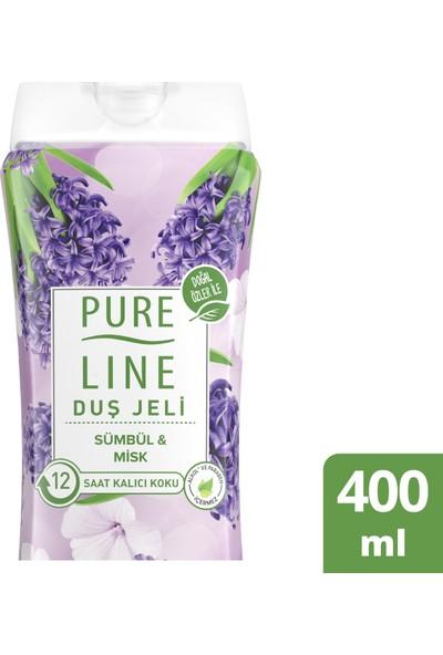 Pure Line Sümbül & Misk Duş Jeli 400 ML