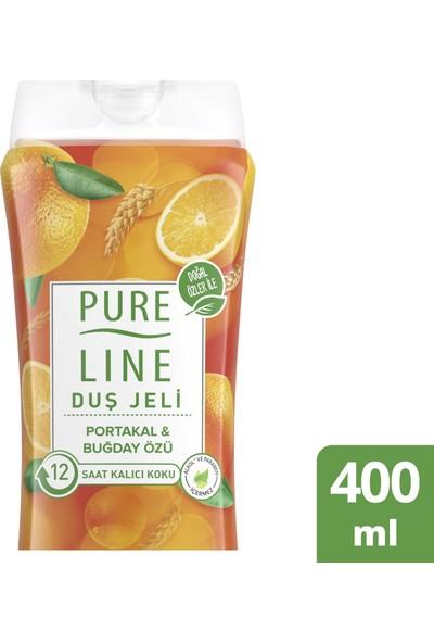 Pure Line Portakal & Buğday Özlü Duş Jeli 400 ML