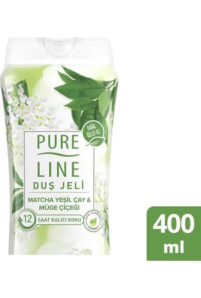 Pure Line Matcha Yeşilçay & Müge Çiçeği Duş Jeli 400 ML
