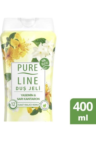 Pure Line Yasemin & Sarı Kantaron Duş Jeli 400 ML